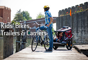Bikes, Trailers & Carriers