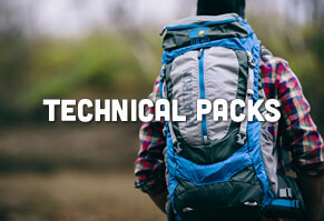 Technical Hiking Packs