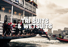 Full, Short and Sleeveless Tri Suits