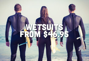 Surf Wetsuits Starting @ $46.95