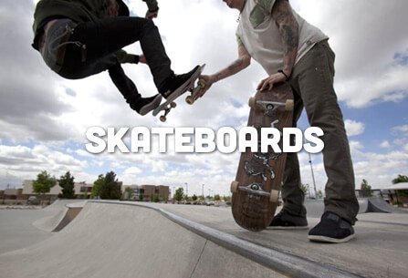 Skateboards, Longboards & Cruisers