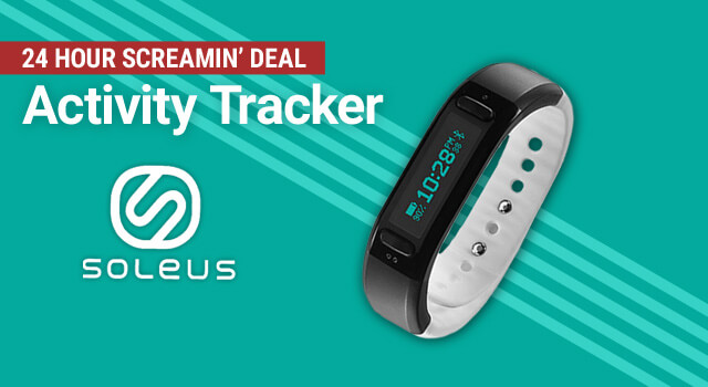 Soleus GO! Activity Tracker @ $69.95