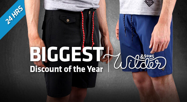 $22.95 River Shorts by Wilder & Sons, MSRP $75.00