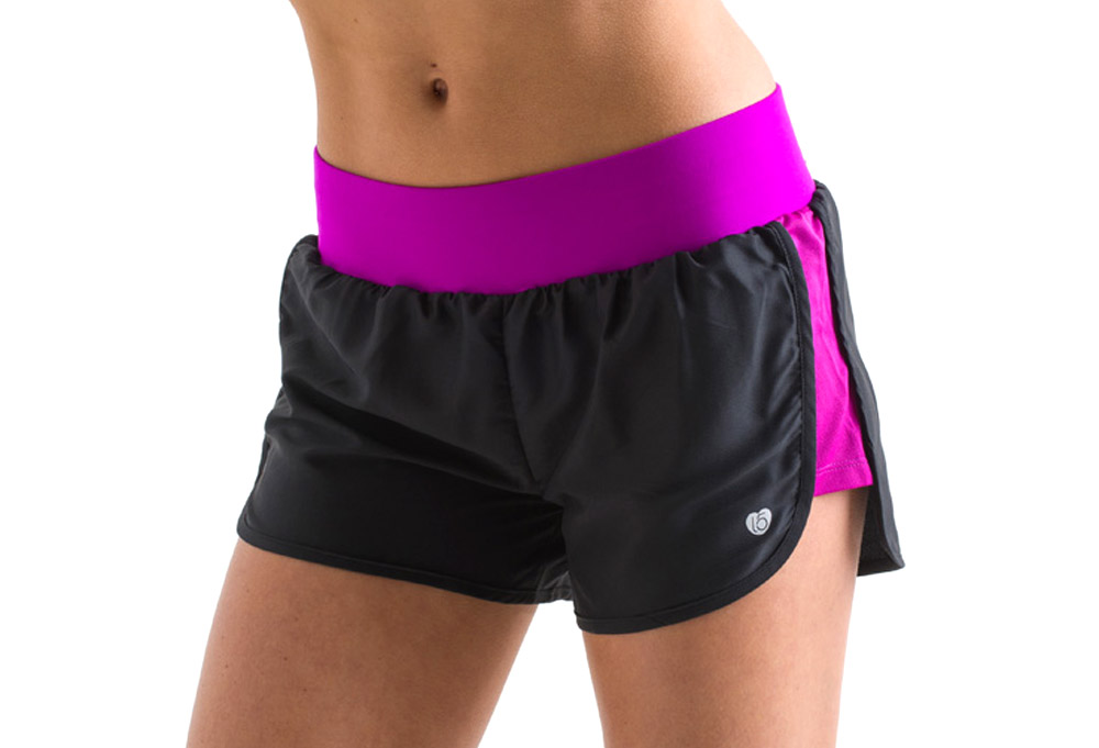 15 Love Performance Woven Short - Womens - black/neon fuschia mesh, xsmall