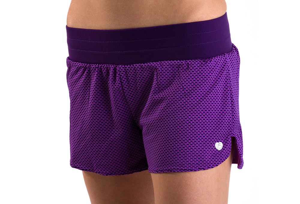 15 Love Reversible Mesh Short - Womens - orchid, medium