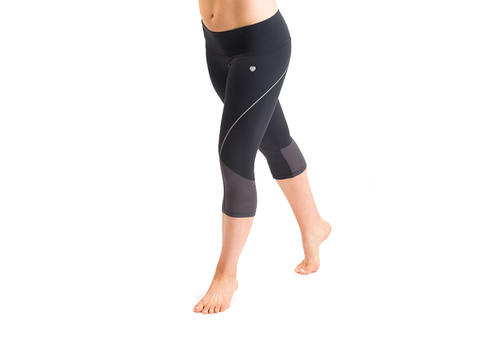 15 Love Compression Capri - Womens - black, xsmall