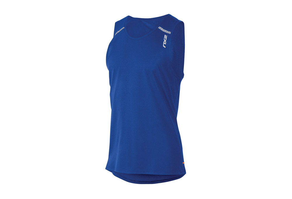 Image of 2XU GHST G:1 Singlet - Men's - cobalt blue/cobalt blue, medium