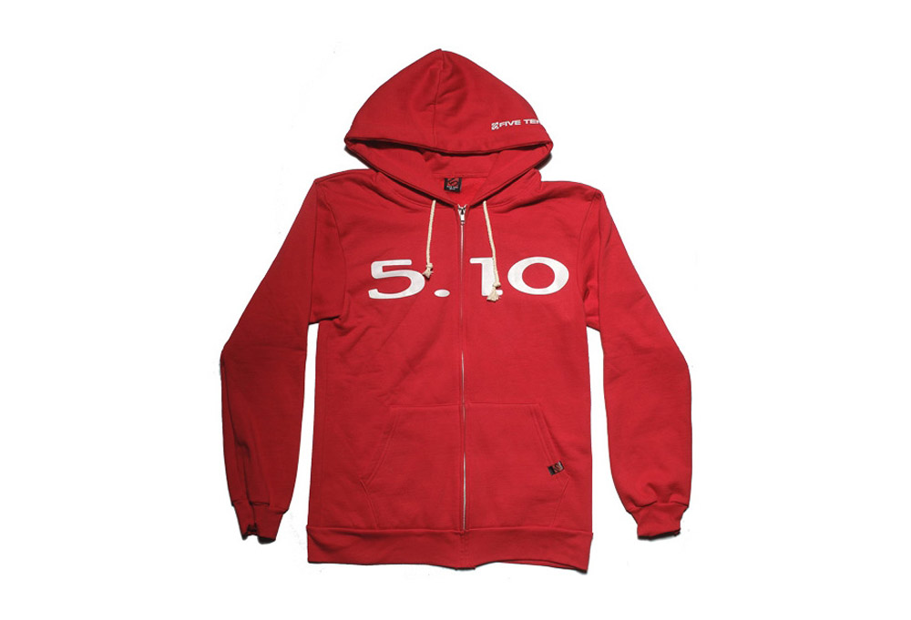 Five Ten Hoodie 2014 - Mens - red, large