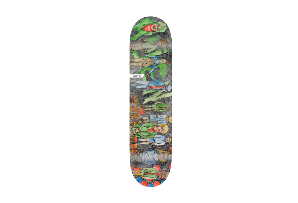 Alien Workshop JD Life Stages Deck