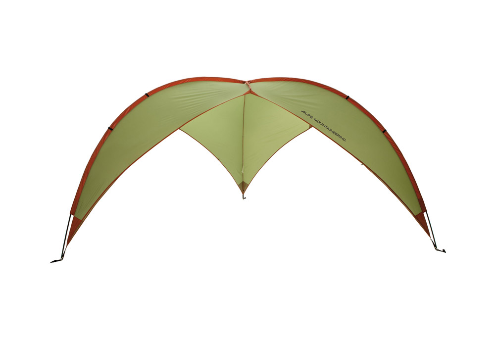 ALPS Mountaineering Tri-Awning - sage/rust, one size
