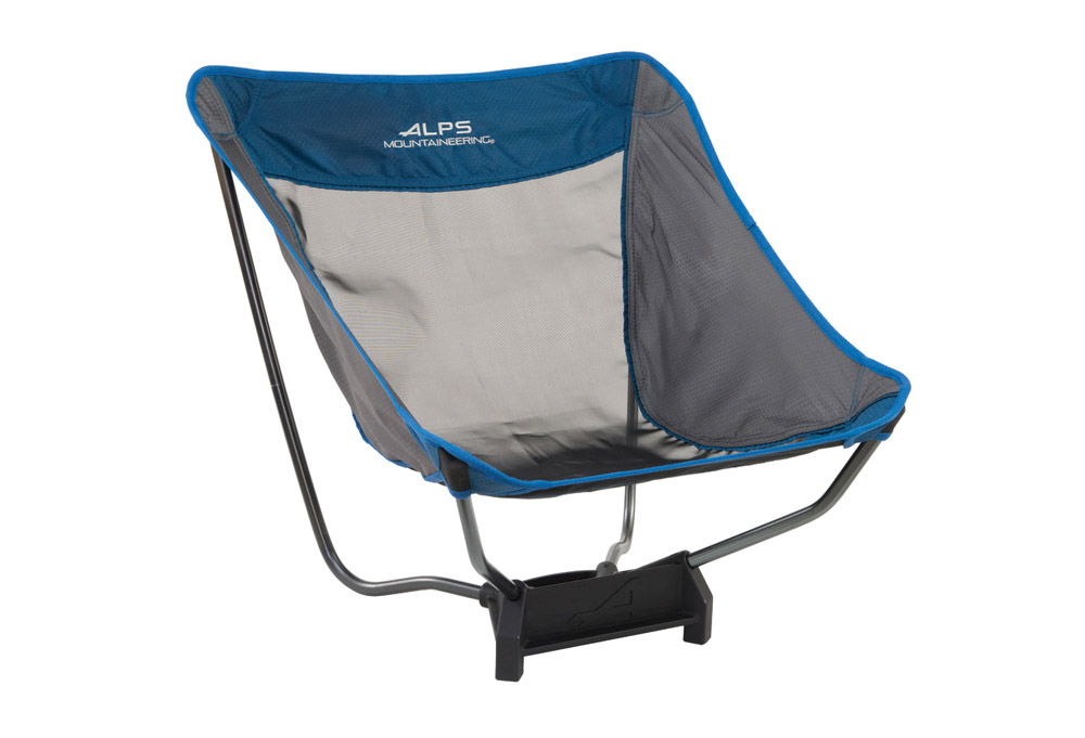 Alps Mountaineering Ready Lite Low Chair - Grey/blue, One Size