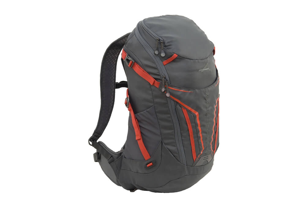 Alps Mountaineering Baja 20l Backpack - Charcoal/chili, One Size