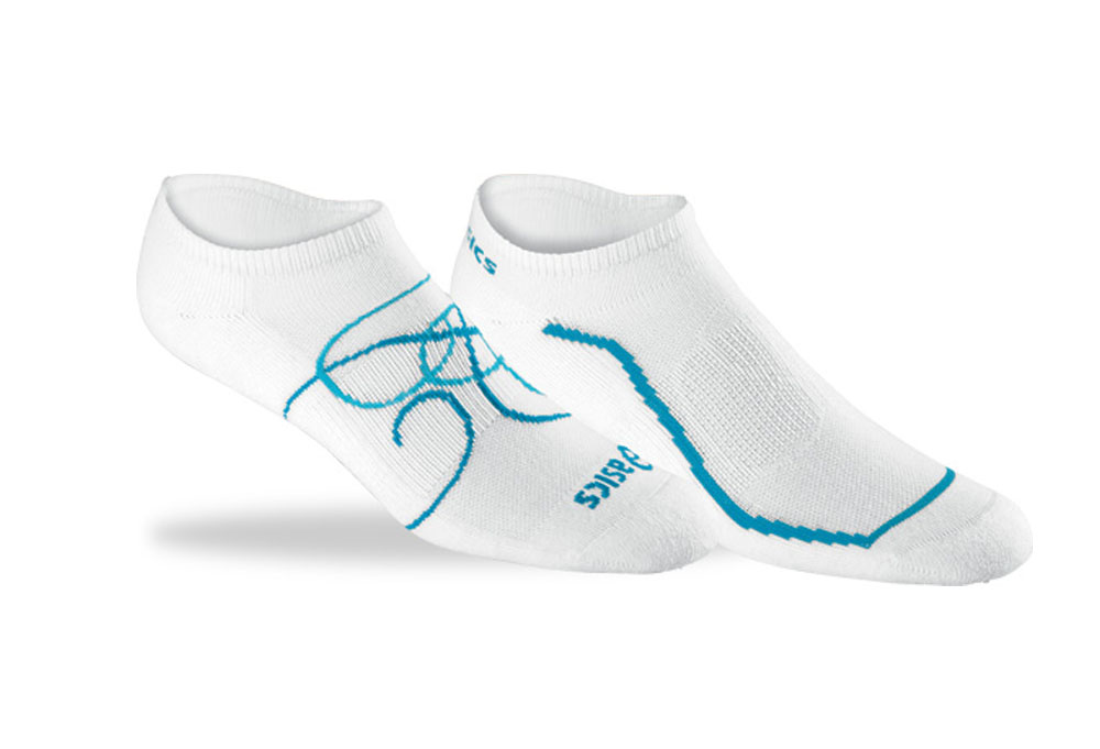 Asics Ayami No-Show Socks 2-Pack - Wms