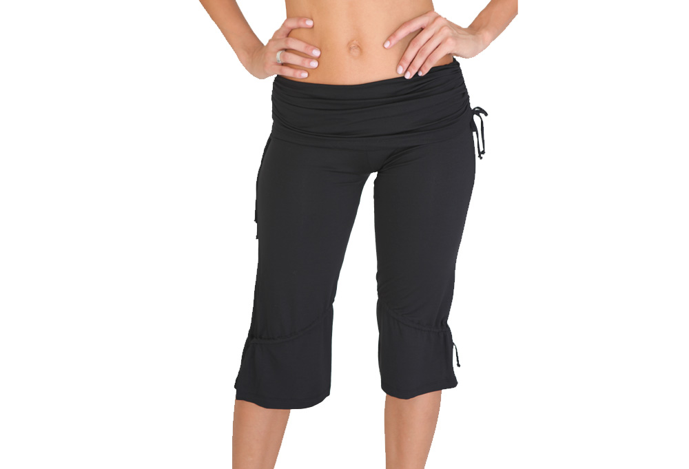 Be Up Yoga Strings Capri - Wmns