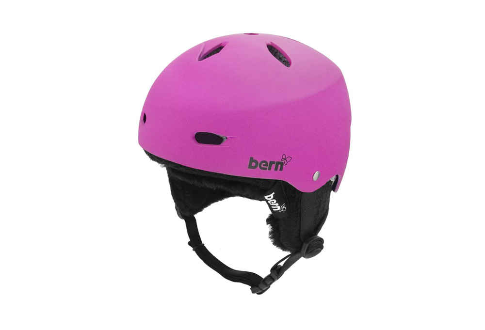 Bern Brighton Snow/Skate Hard-Hat- Womens