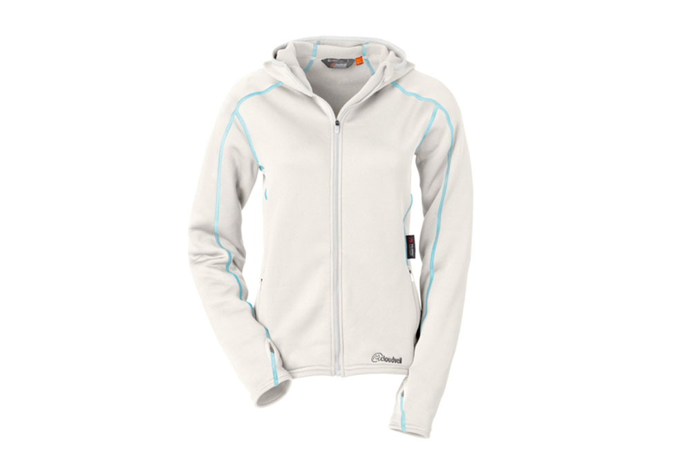Cloudveil Run Don't Walk Full Zip Hoody - Womens