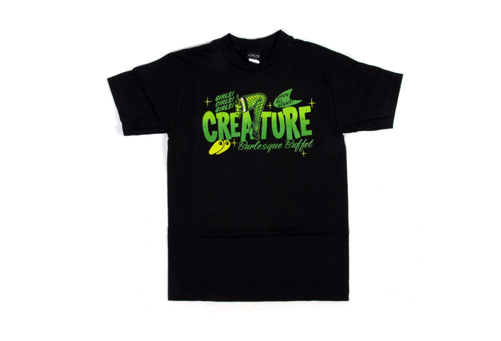 Creature Burlesque Buffet t-shirt -  Mens
