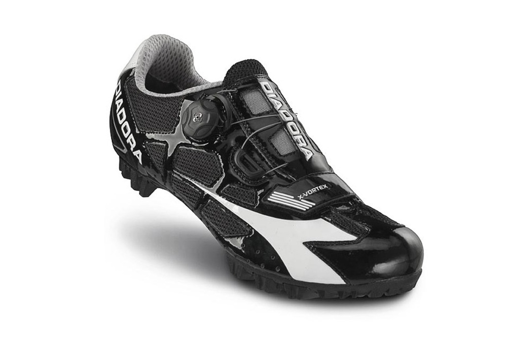 Diadora X-Vortex MTB Shoe - black/white, eu 44