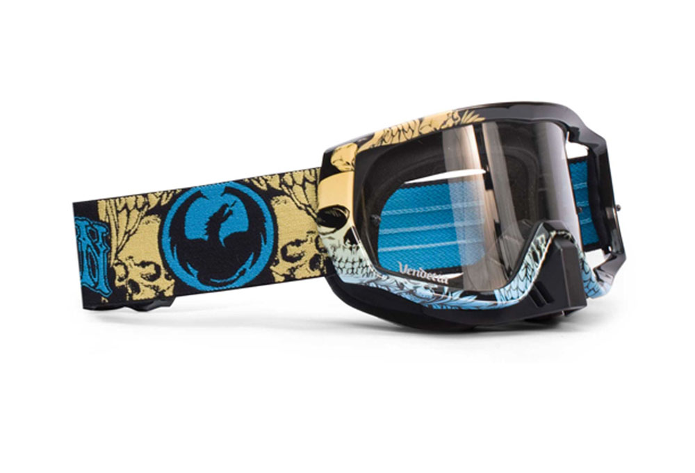 Dragon Vendetta Josh Hill Moto Goggles