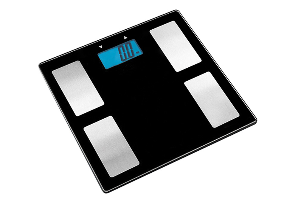 Escali Glass Body Fat, Water, Muscle Mass Scale