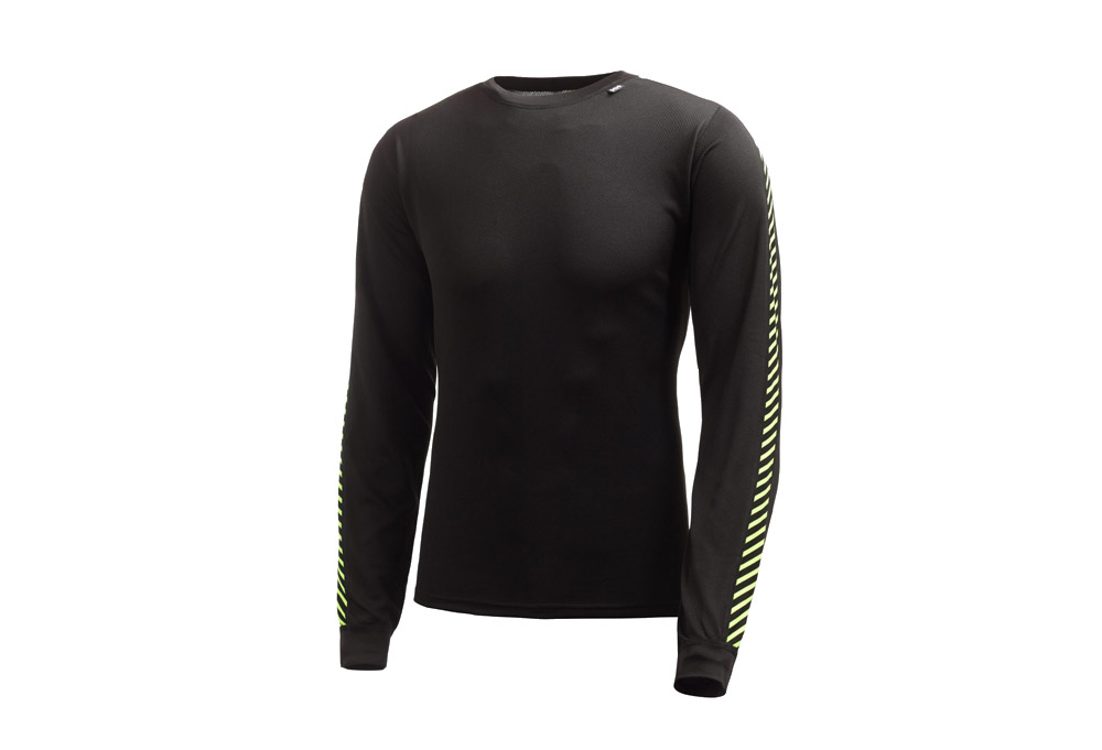 Helly Hansen Dry Stripe Crew LS - Mens