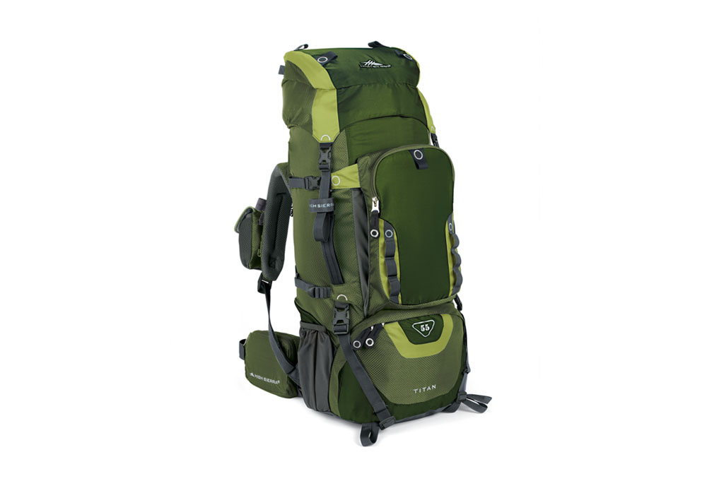 High Sierra Titan 55 Internal Frame Backpack