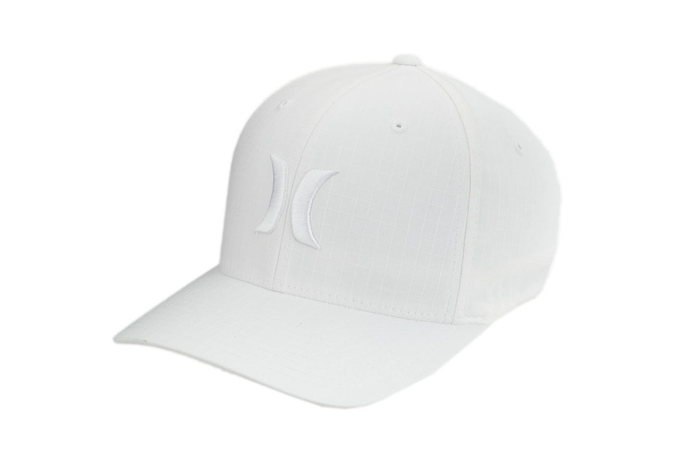 Hurley One And Only White Flexfit Hat - Mens