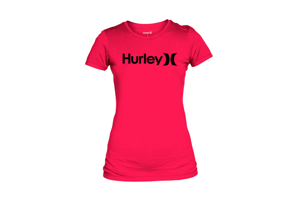 Hurley One & Only Perfect Crew Tee - Wmns