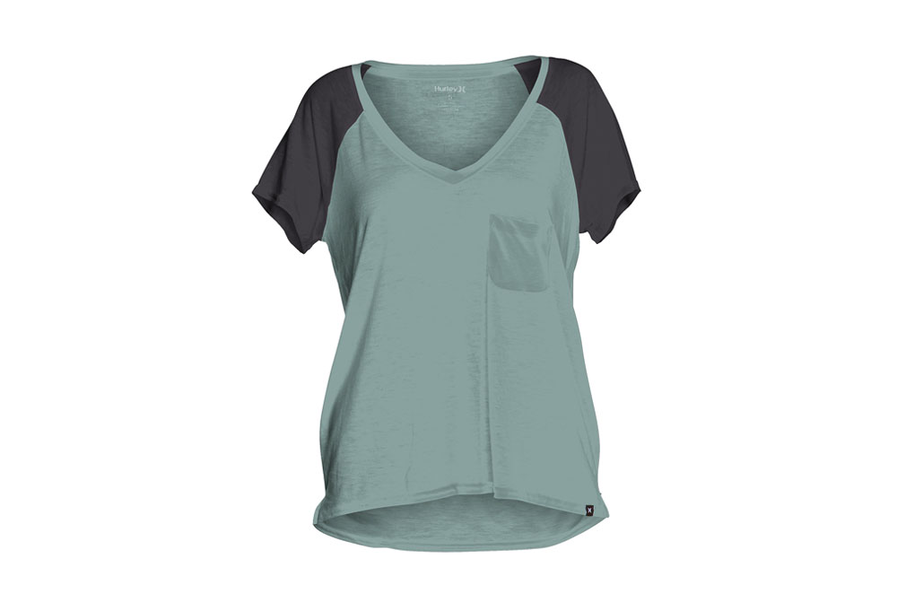 Hurley Solid Pocket Tee - Wmns