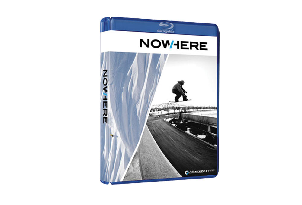 NowHere - Snowboard  (Blu-Ray)
