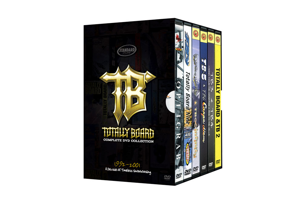 TB Box Set Snowboard DVDs