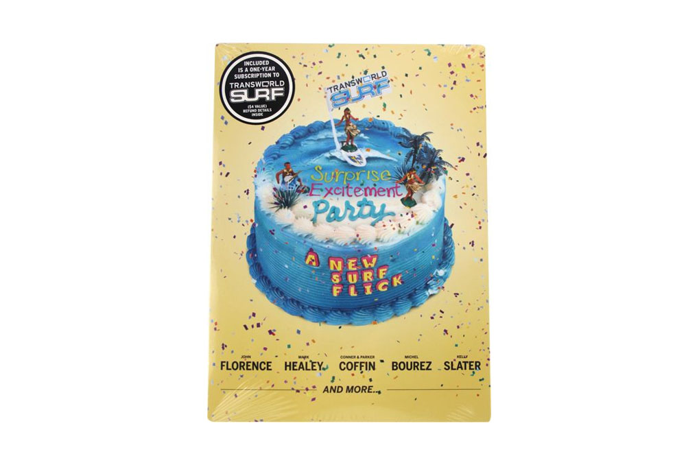 Surprise Excitement Party Surf DVD