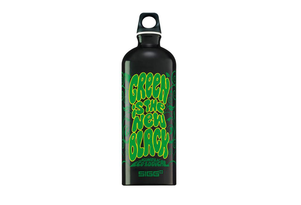 Sigg Green is the new Black 1L