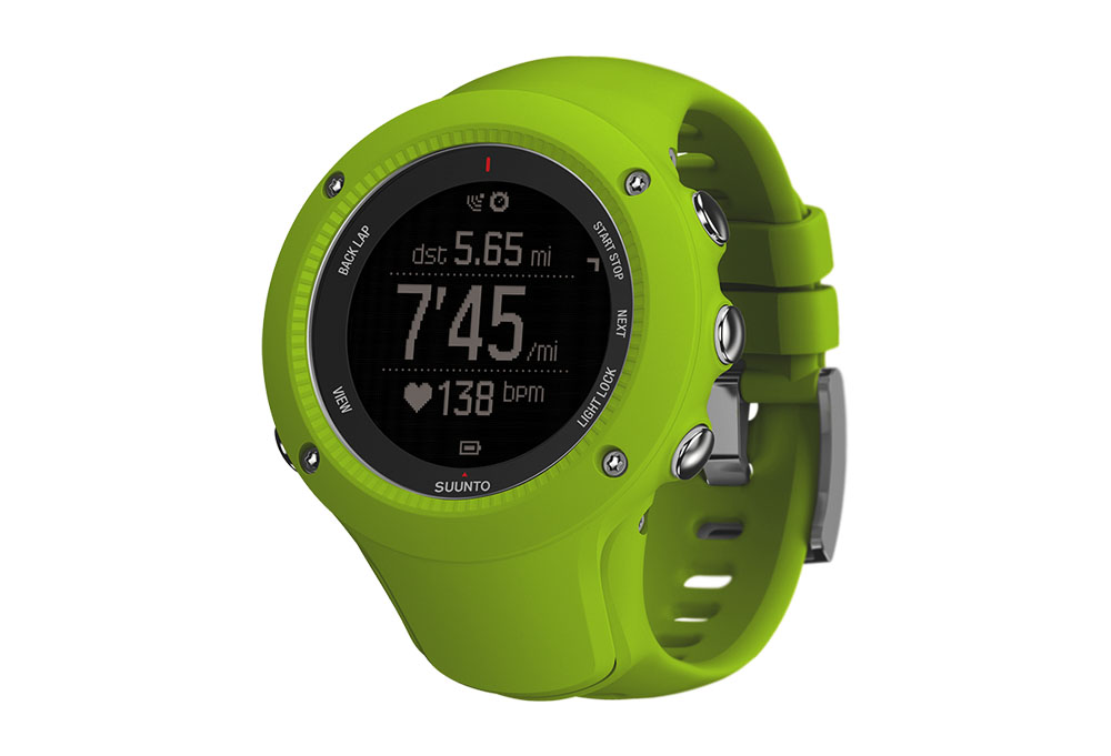 Suunto Ambit3 Run Watch - lime, one size