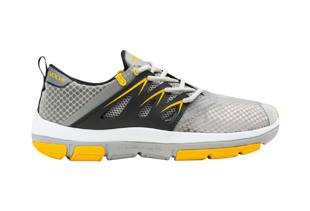 Turner T-Fleerun Shoes - Women's - grey/yellow/black, 9.5
