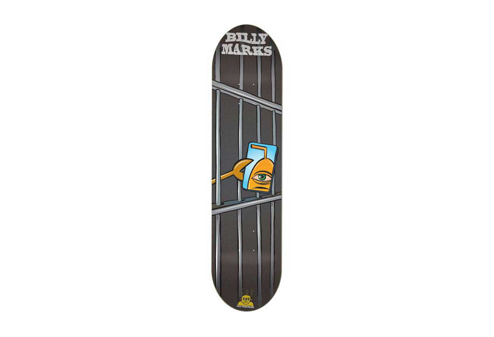 Toy Machine Billy Mark's Lockup Pro Deck