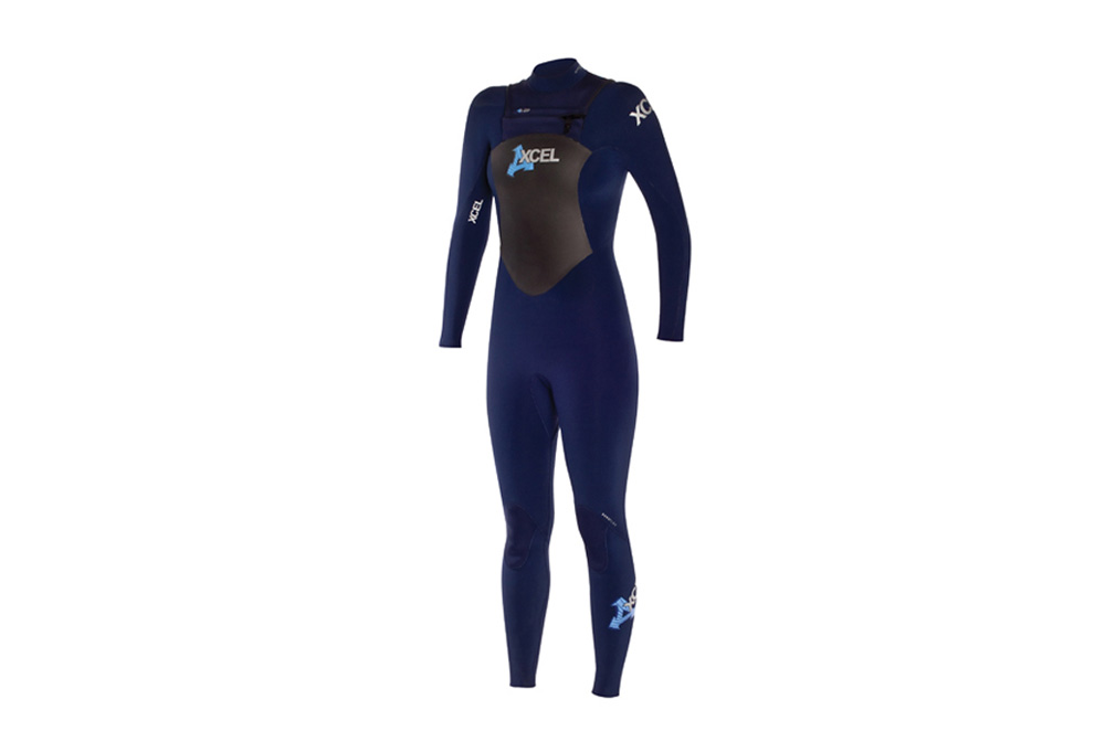 Xcel Fullsuit X-Zip (4/3mm) - Womens