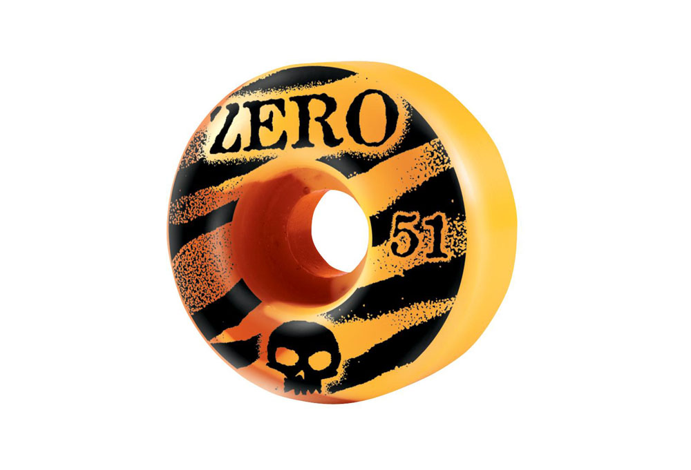 Zero Skull Stencil Tiger Wheel 51mm