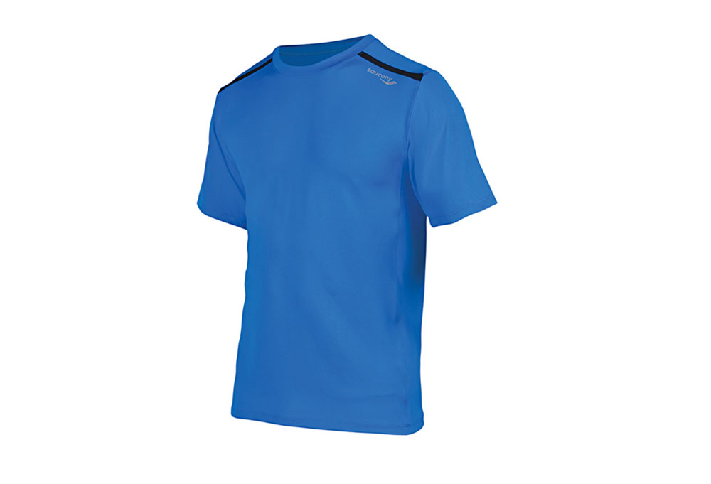 Saucony Velocity Flex Short Sleeve - Mens