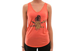 Jetty Pineapple Flowy V-neck Tank - Women's