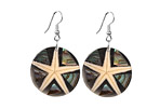 Oceans Exotic Midnight Waves Earrings