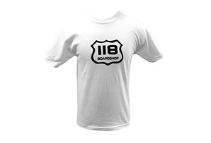 118 Board Shop T Shirt