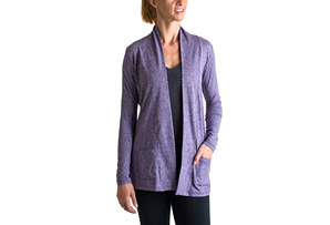 15 Love Jersey Cardigan - Womens
