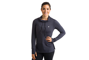 15 Love Track Funnel Neck Pullover - Women's