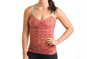 15 Love Ruched Sweetheart Tank - Women's