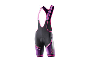 2XU Sublimated Cycle Bib Short - Womens