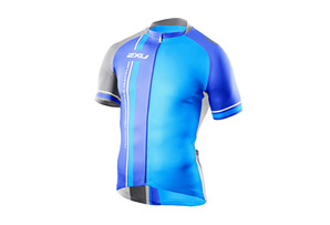 2XU Retro Sublimated Cycle Jersey - Mens