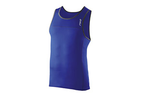 2XU Tech Speed X Run Singlet - Mens