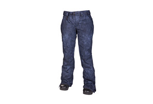 686 Reserved Mission Denium Insulated Pant - Womens