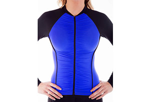Alii Sport Ruched Long Sleeve Jersey - Women's